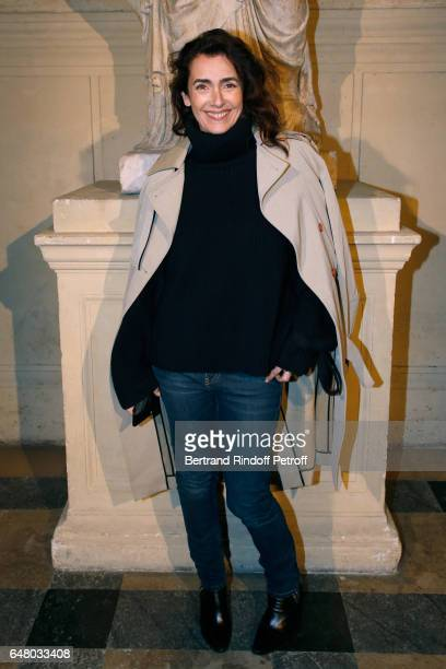 Mademoiselle Agnes Boulard attends the Sonia Rykiel show as part of the Paris Fashion Week Womenswear Fall/Winter 2017/2018 on March 4 2017 in Paris...