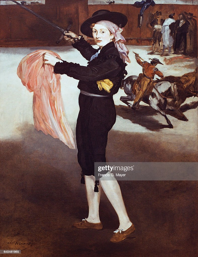 Mademoiselle Victorine in the Costume of an Espada by Edouard Manet
