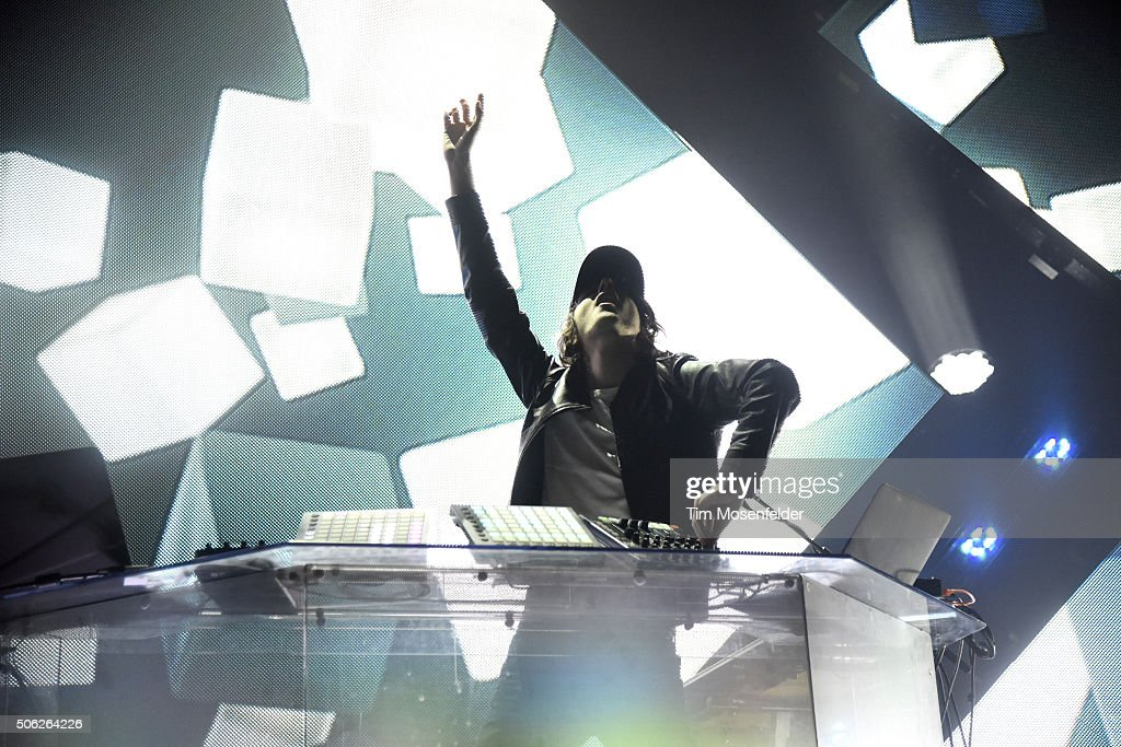 <a gi-track='captionPersonalityLinkClicked' href=/galleries/search?phrase=Madeon&family=editorial&specificpeople=9131513 ng-click='$event.stopPropagation()'>Madeon</a> performs at The Fox Theater in support of his 'Adventure' release on January 21, 2016 in Oakland, California.