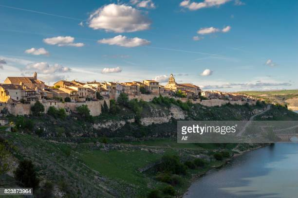 Maderuelo and the swamp of Linares, Segovia, Spain