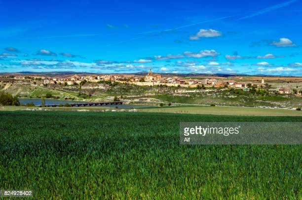 Maderuelo medieval village , Segovia, Spain