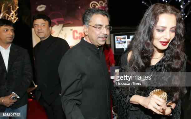 Madhur Bhandharkar and Anu Malik Rekha at HT Cafe Awards