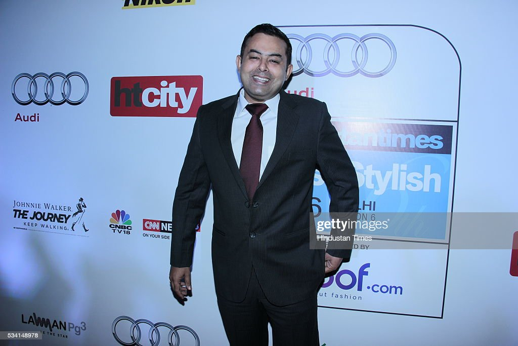 Madhur Verma, DCP Delhi Police arriving at red carpet forHindustan Times Most Stylish Awards 2016 at hotel JW Marriot, Aerocity on May 24, 2016 in New Delhi, India.