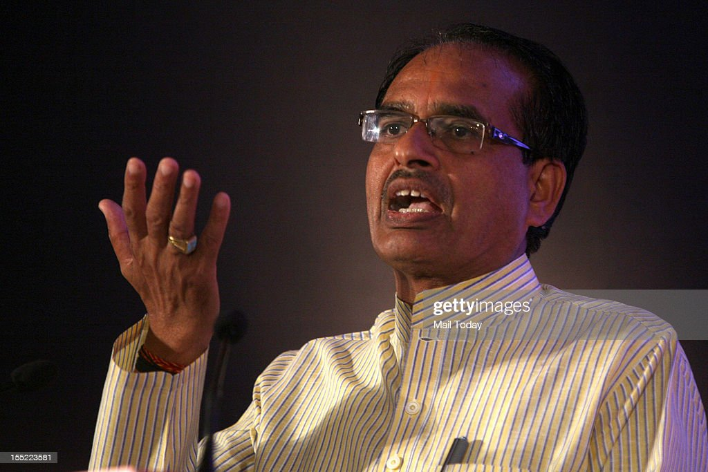 Madhya Pradesh CM Shivraj Singh Chouhan speaks at the India Today State of the States Conclave in New Delhi on Thursday, November 1, 2012.