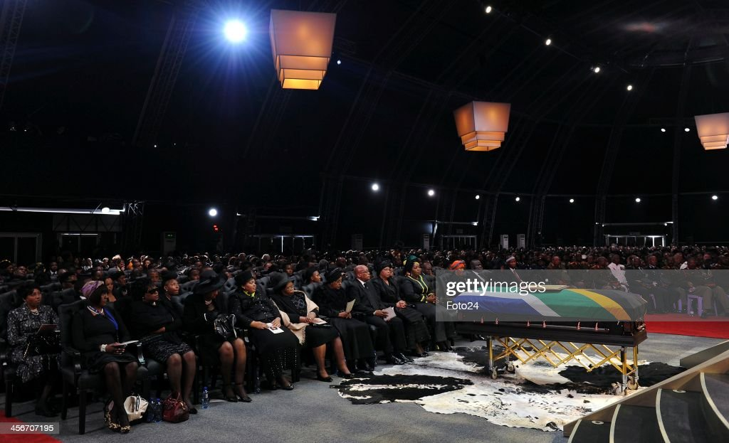 Madiba's State Funeral on December 15, 2013 in Qunu, South Africa. Nelson Mandela passed away on the evening of December 5, 2013 at his home. He is laid to rest at his homestead in Qunu during a State Funeral.