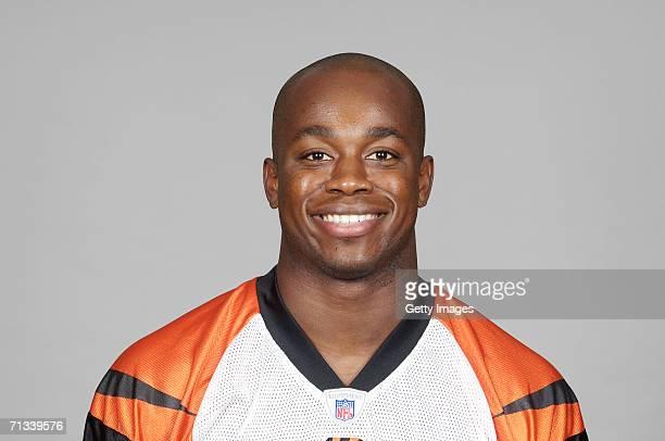 Madieu Williams of the Cincinnati Bengals poses for his 2006 NFL headshot at photo day in Cincinnati Ohio
