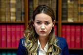 Madina Ablyazov the daughter of Kazakh opposition figure Mukhtar Ablyazov looks on during a press conference on October 12 in Paris The French...
