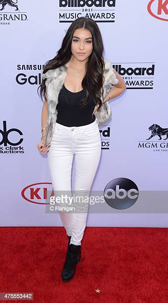 Madison Beer arrives at the Billboard Music Awards at the MGM Grand Garden Arena on Sunday May 17 2015 in Las Vegas