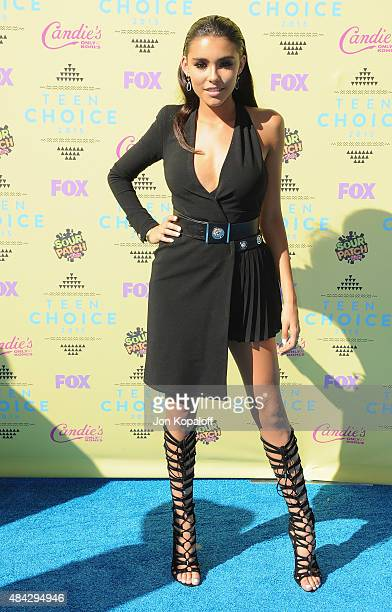 Madison Beer arrives at the Teen Choice Awards 2015 at Galen Center on August 16 2015 in Los Angeles California