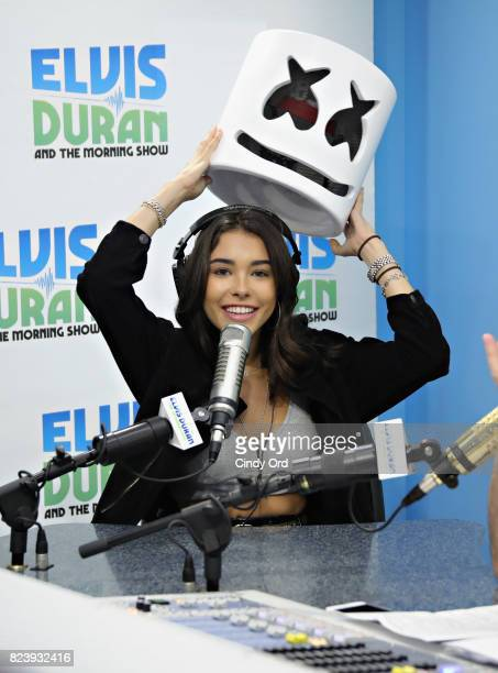 Madison Beer visits 'The Elvis Duran Z100 Morning Show' at Z100 Studio on July 28 2017 in New York City