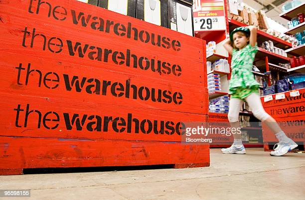 Madison Bond from Hamilton shops for kitchenware with her grandmother not pictured at a Warehouse Group Ltd store in Paraparaumu New Zealand on...