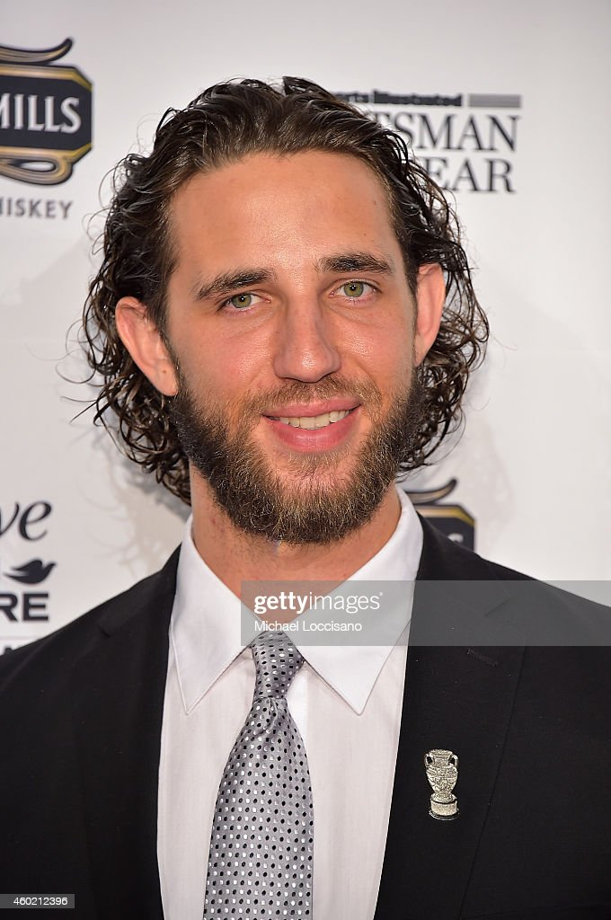 Madison Bumgarner attends the Sportsman Of The Year 2014 Ceremony on December 9, 2014 in New York City.