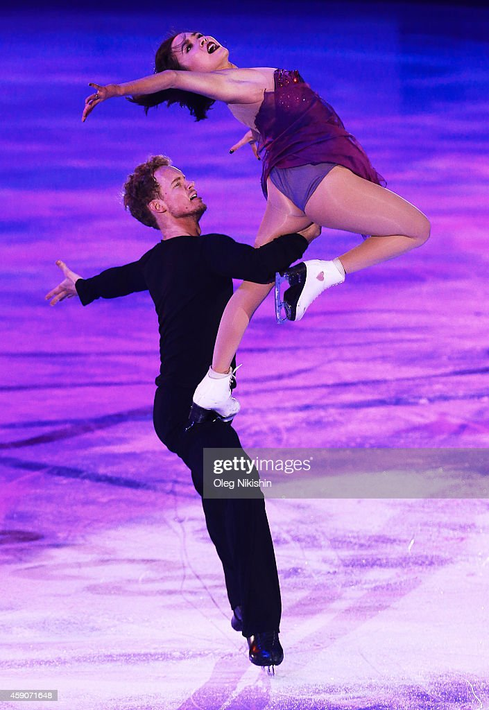 <a gi-track='captionPersonalityLinkClicked' href=/galleries/search?phrase=Madison+Chock&family=editorial&specificpeople=6471803 ng-click='$event.stopPropagation()'>Madison Chock</a> and <a gi-track='captionPersonalityLinkClicked' href=/galleries/search?phrase=Evan+Bates&family=editorial&specificpeople=4839407 ng-click='$event.stopPropagation()'>Evan Bates</a> from USA, ice dancing gold medal winners, perform during ISU Rostelecom Cup of Figure Skating 2014 on November 16, 2014 in Moscow, Russia.