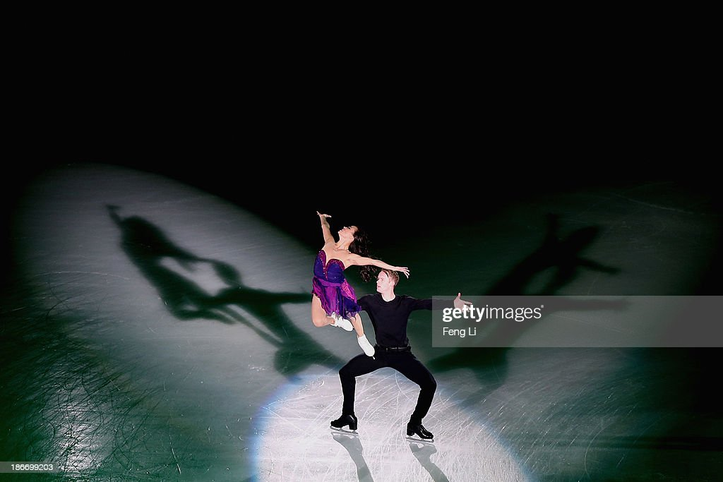 Madison Chock and Evan Bates of United States perform during Lexus Cup of China ISU Grand Prix of Figure Skating 2013 at Beijing Capital Gymnasium on November 3, 2013 in Beijing, China.