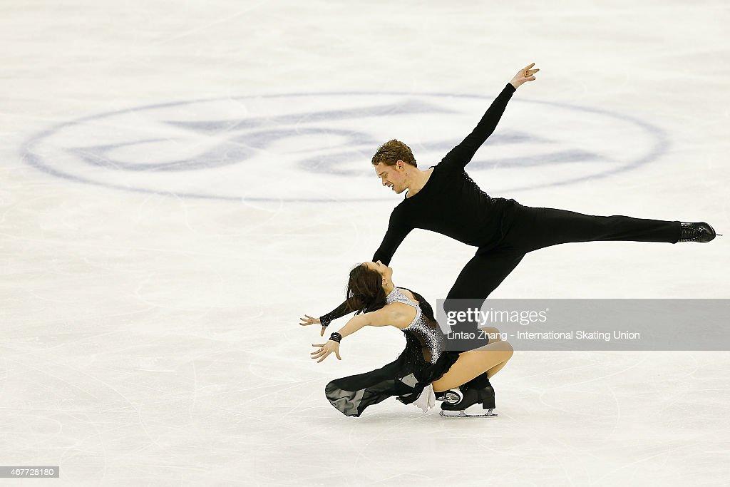 2015 Shanghai World Figure Skating Championships - Day 3
