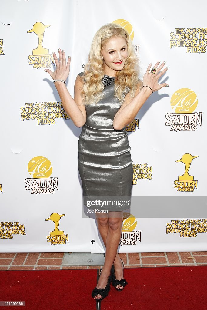 Madison Dylan attends the 40th Annual Saturn Awards at The Castaway on June 26, 2014 in Burbank, California.
