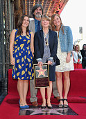 Madison Fisk production designer Jack Fisk actress Sissy Spacek and actress Schuyler Fisk attend the ceremony Honoring Sissy Spacek with the 2443rd...