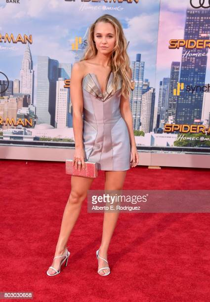 Madison Iseman attends the premiere of Columbia Pictures' 'SpiderMan Homecoming' at TCL Chinese Theatre on June 28 2017 in Hollywood California
