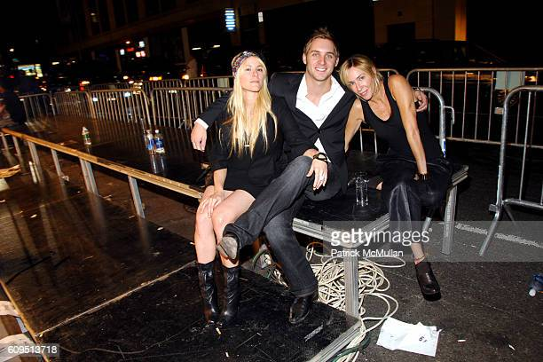 Madison Jason Lord and Lauryn Flynn attend CALVIN KLEIN UNDERWEAR 25th Anniversary Party hosted by DJIMON HOUNSOU and HILARY SWANK at Calvin Klein...
