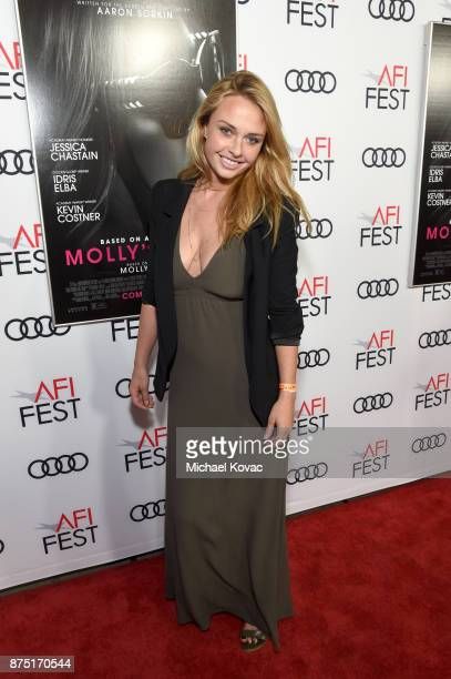 Madison McKinley attends the screening of 'Molly's Game' at the Closing Night Gala at AFI FEST 2017 Presented By Audi on November 16 2017 in...