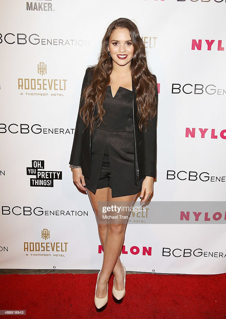 Madison Pettis arrives at the Nylon Magazine May Young Hollywood Issue Party held at Tropicana Bar at The Hollywood Rooselvelt Hotel on May 8, 2014 in Hollywood, California.