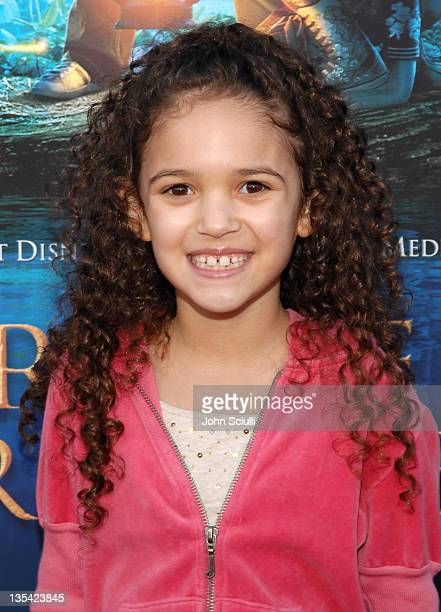 Madison Pettis during 'Bridge to Terabithia' Los Angeles Premiere Arrivals at El Capitan Theater in Hollywood California United States