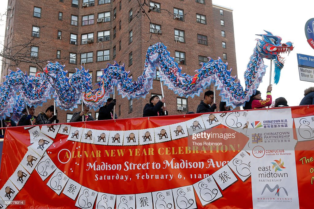 Madison Street To Madison Avenue Lunar New Year Celebration on February 6, 2016 in New York City.