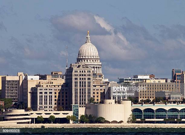 Madison Wisconsin Capitol and Downtown