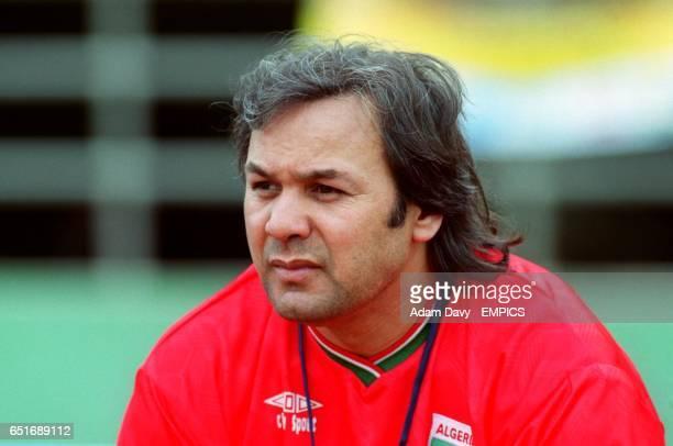 Madjer Rabah Algeria Coach