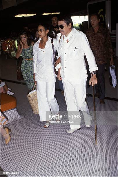 Madly and Jacques Brel in France on July 28th 1978
