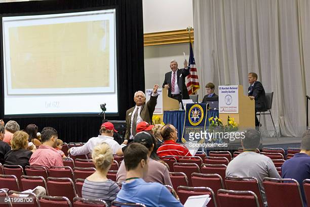 Madoff Property Auction at Convention Center of Miami Beach, Florida