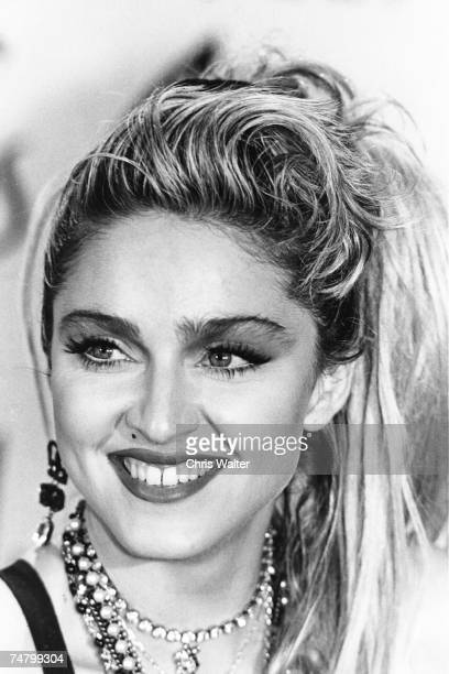 Madonna 1985 American Music Awards at the Shrine Auditorium in Los Angeles California
