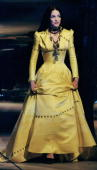 Madonna accepts award during VH1 Fashion Awards at Madison Square Garden