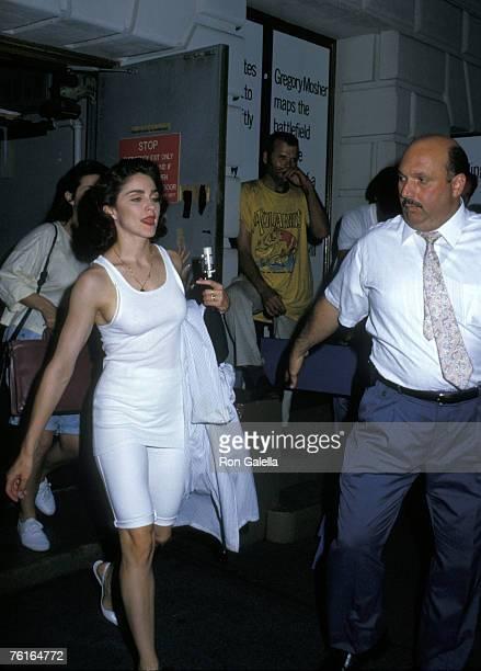 Madonna and bodyguard