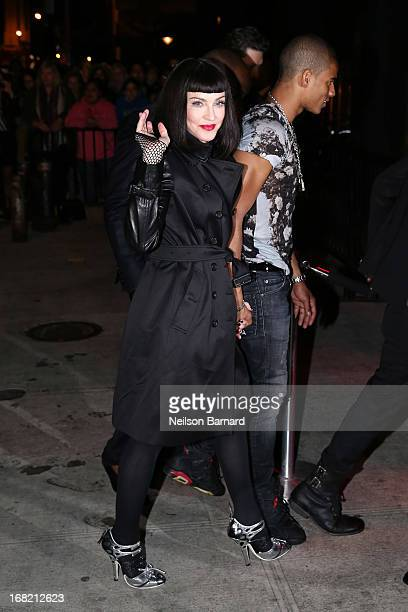Madonna and Brahim Zaibat attend the 'PUNK Chaos To Couture' Costume Institute Gala after party at The Standard hotel on May 6 2013 in New York City