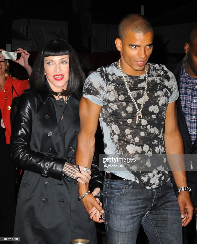 Madonna and Brahim Zaibat attend the 'PUNK: Chaos To Couture' Costume Institute Gala after party at The Standard hotel