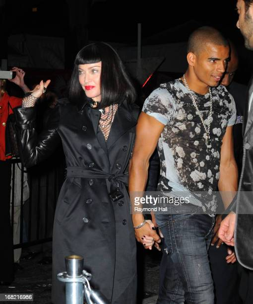 Madonna and Brahim Zaibat attend the 'PUNK Chaos To Couture' Costume Institute Gala after party at The Standard hotel PUNK Chaos To Couture' Costume...