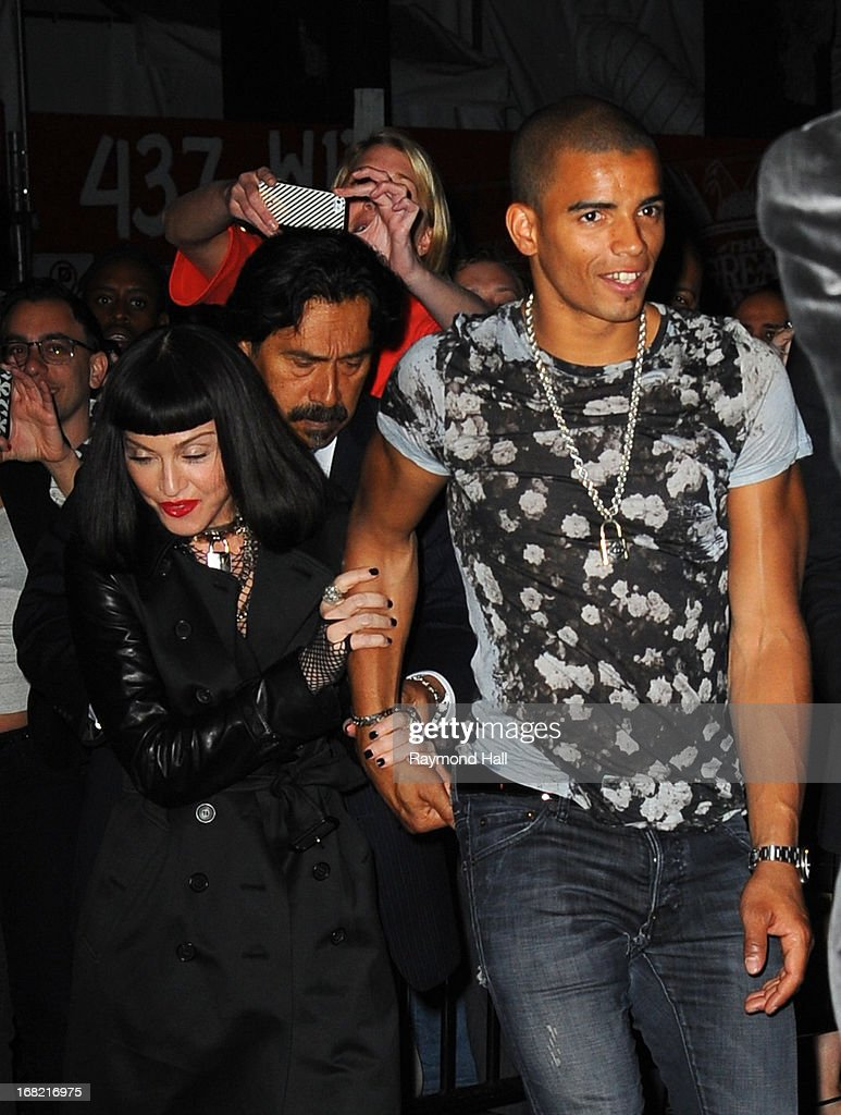Madonna and Brahim Zaibat attends the 'PUNK: Chaos To Couture' Costume Institute Gala after party on May 6, 2013 in New York City.