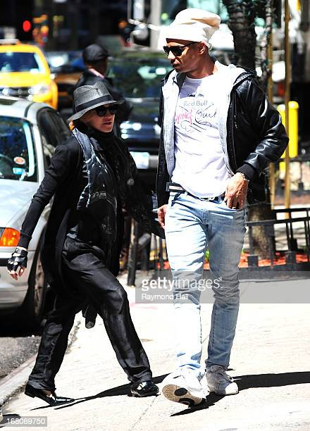 Madonna and Brahim Zaibat sighting on May 4 2013 in New York City