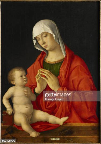 Madonna and Child circa 14801485 Found in the collection of MusÈe du Louvre Paris