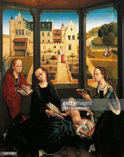 Madonna and Child in a Garden by Hans Memling Royal Chapel of the cathedral Granada Spain