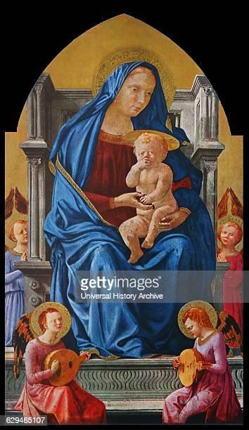 Madonna and Child with Angels 1426 by Masaccio Masaccio born Tommaso di Ser Giovanni di Simone was the first great Italian painter of the...