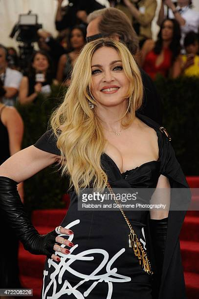 Madonna arrives at 'China Through The Looking Glass' Costume Institute Benefit Gala at the Metropolitan Museum of Art on May 4 2015 in New York City