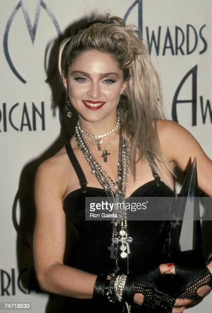 Madonna at the Shrine Auditorium in Los Angeles California