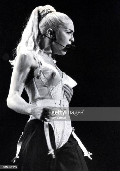 Madonna at the The Sports Arena in Los Angeles California