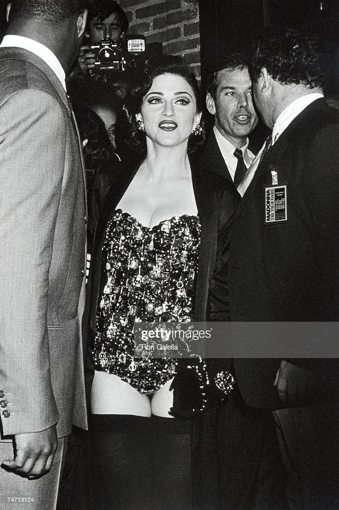 Madonna at the Ziegfeld Theater in New York City New York
