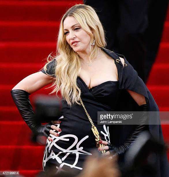 Madonna attends 'China Through The Looking Glass' Costume Institute Benefit Gala at Metropolitan Museum of Art on May 4 2015 in New York City