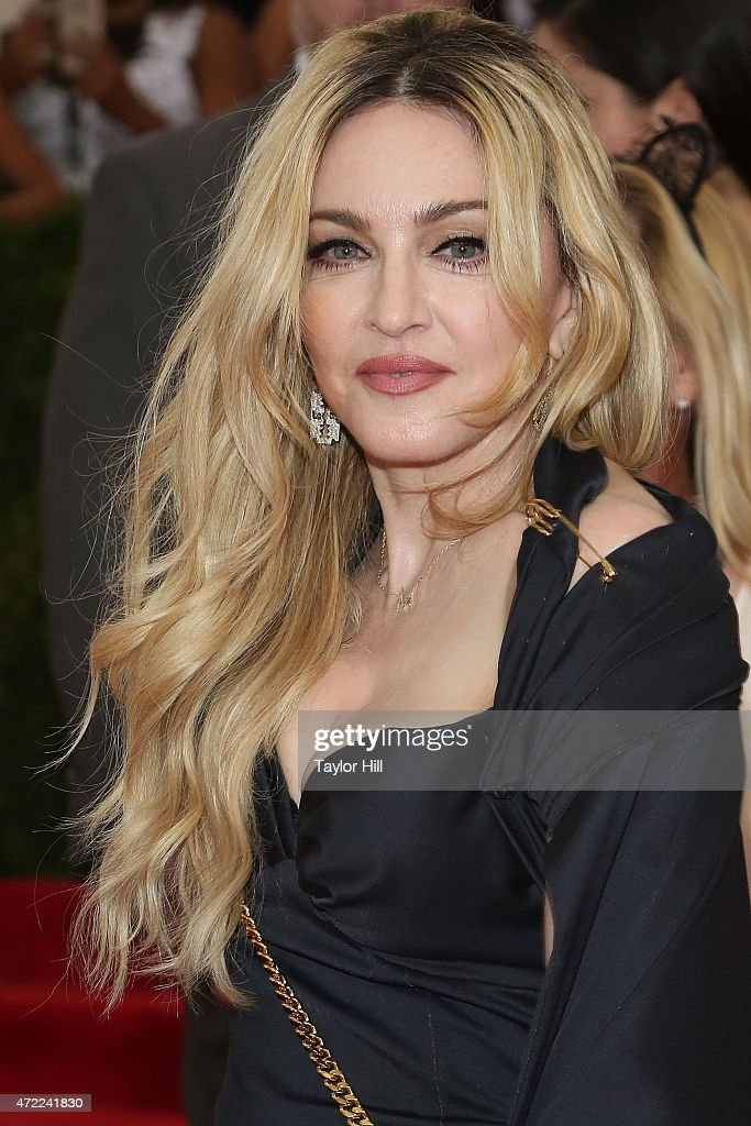 Madonna attends 'China Through the Looking Glass' the 2015 Costume Institute Gala at Metropolitan Museum of Art on May 4 2015 in New York City