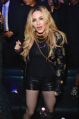 Madonna attends Rihanna's private Met Gala after party at Up Down on May 4 2015 in New York City