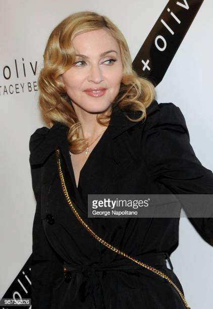 Madonna attends the 2nd Annual Bent on Learning Benefit at The Puck Building on April 28 2010 in New York City